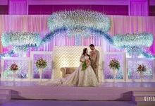 Reception Backdrop by Heaven Days.Co