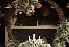 Aswin & Ruby Wedding At Bunga Rampai by Fiori.Co