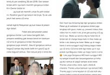 No word can describe... ❤ by Gorgeous Bridal Jakarta
