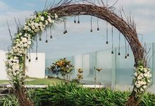 Wedding ceremony from Djit Fat & Vina by Dona Wedding Decoration & Planner