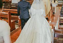 Happy wedding to Ellen & Anthony by D BRIDE