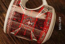 Mug Love Gloria & Demas by Mug-App Wedding Souvenir