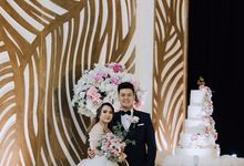 Roby & Stephanie by Evergreen Cake Boutique
