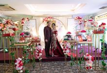 Sangjit Rika & Daud by Calysta Sangjit Decoration