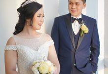 Wedding Of Fedry & Novie by Elina Wang Bridal