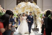 William & Melisa Wedding by Elina Wang Bridal
