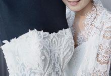 David & Jessica Wedding by Elina Wang Bridal