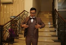 Bayu Krisna - Dina Wedding by ARLO Tailor