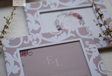 Invitation Mix Photo Frame - ENDAH & LUTFI by Jogja Wedding Net