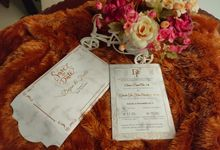 Deijian & Ficilia Invititation by xime wedding card