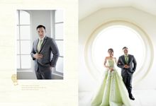 Love simply makes everything beautiful...❤ by Gorgeous Bridal Jakarta