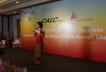 Celebration of Transnusa's New Chapter  Strategic Cooperation with CALC by MC Mandarin Linda Lin