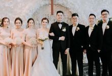 Ivan Wongestu & Katarina Eva - Wedding Day by Kaye Brothers Tailor