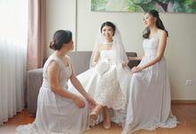 Wedding Of Thomas & Claudia by Elina Wang Bridal