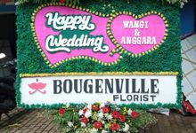 Bunga Papan Wedding by Bougenville Decoration