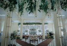 Wedding Aula Masjid Al Ikhlas by Kampus Wedding Decoration