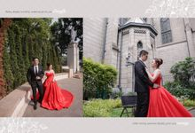 Loving someone deeply give you courage... by Gorgeous Bridal Jakarta