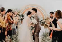 Lucky & Ericia Wedding at Gedong Putih by PRIDE Organizer