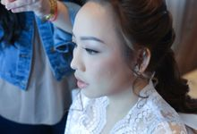 Makeup & Hairdo Preparation For Elfina by Nike Makeup & Hairdo