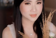 Evening Look Of The Bride Cinthya by XAVIER Makeup
