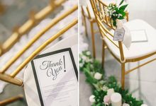 Wedding Decoration : Simple Elegant by Florist By HaejaBudiman