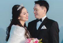 Mr. Johny Wans & Mrs. Putri by Ventlee Groom Centre
