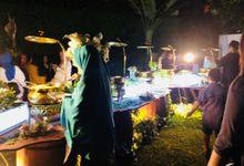 Outdoor Wedding by Dirasari Catering