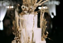 The Wedding Cake Of Irwan & Celia by Moia Cake