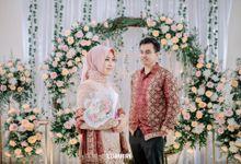 Engagement Jihan & Agung by Rosepetal Backdrop