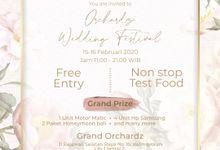 Open House Grand Orchardz by ChrisYen wedding boutique