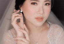 Morning Look Of The Bride (Paul & Cinthya) by XAVIER Makeup