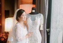Wedding Of Chika & Yandi by Elina Wang Bridal