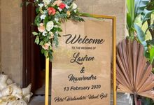 THE WEDDING LAUREN & MANVENDRA 13 FEB 2020 by Puri Wulandari, A Boutique Resort & Spa
