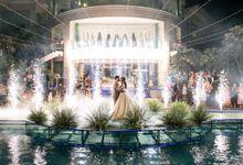 Ricky & Grace Wedding at Club Deruzzi by PRIDE Organizer