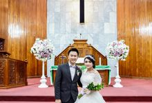 Wedding Day Christofer & Laras by JCL FOTO BRIDAL SALON