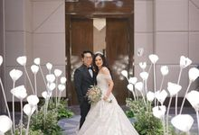 Wedding Of Johanes & Levie by Elina Wang Bridal