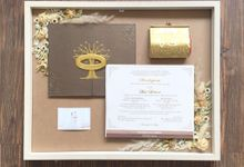 Invitation Memorable Frame (40x50) by Magnolia Dried Flower