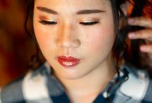 Sangjit Of Jessica & Charles by Alexandra Makeup Artist