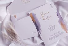 Alicia & Satria Single Soft Cover With Envelope by Keeano Project
