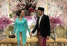 custom kebaya by D BRIDE