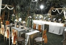 Outdoor Wedding by Dirasari Catering