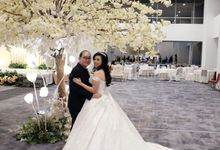 Wedding Of Handy & Dania by Elina Wang Bridal