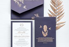 The wedding of Khansa Kevin by Tapestry Invitation