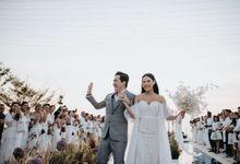 Calvin Wiselim & Vinna Gracia by Henri Winata Menswear