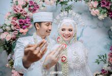 Wedding Intimate Revita & Haerudin by Rosepetal Backdrop
