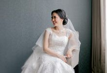 Wedding Of Steven & Riany by Elina Wang Bridal