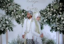 Intimate Wedding Naddya & Rizaldy by Rosepetal Backdrop
