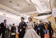 The Wedding of Ratih & Yusfik by Hiasan Hati Wedding Planner & Organizer