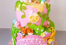 Birthday Cake by FOREVER CAKE