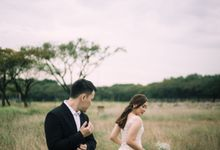 Outdoor Prewedding For Ferdinand & Michelle by Elina Wang Bridal